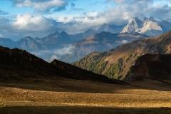 Early morning light, Passo Giau, Dolomites, Italy.