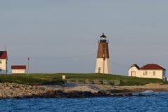 Pt. Judith Lighthouse, Rhode Island.