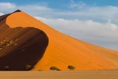 Sossusvlei dunes, Namibia.