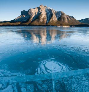 Abraham Lake, Alberta.