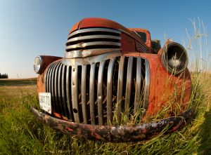 Old farm truck, Washington.