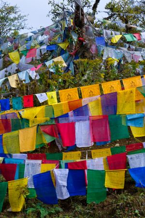 Prayer flags, Bhutan.