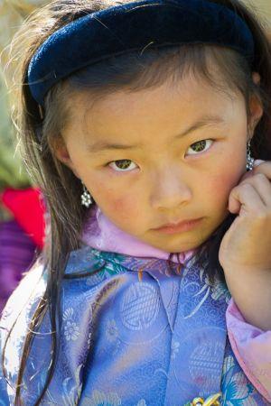 Young girl, Bhutan.