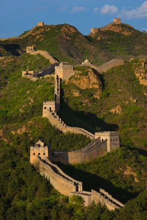 The Great Wall, Jinshanling, Hebei Province.