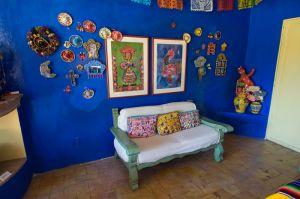 Sitting room, San Miguel de Allende, Mexico.