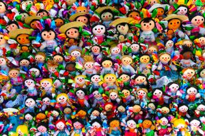 Dolls for sale, Guanajuato, Mexico.