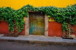 Doorway, San Miguel de Allende, Mexico.