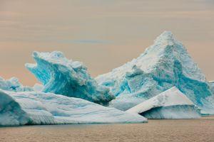 Icebergs..