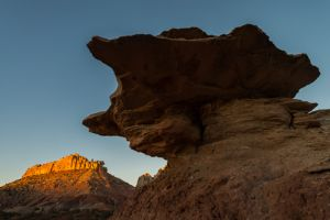 Sunrise on Burr Trail