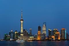 Pudong skyline, Shanghai, China.
